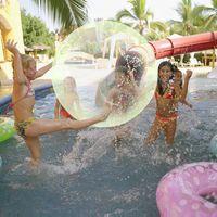 Украшение партии дети пузырь мяч смешно воздушный шар надувные воды крытые наружные игры взорвать игрушку