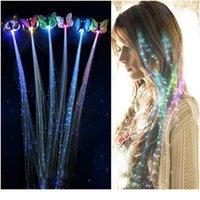 1 STÜCKE LED Haargeflecht Weihnachtsspielzeug Glühen Blinzeln Haar Clip Flash Led Braid Party Leuchtende Jahr Spielzeug für Kind Jllsle