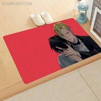 Carpets 1 Pcs Anime Banana Fish Doormat Welcome Door Mat Eiji Ash Cartoon Character Rug Carpet Home Decor 50X80cm