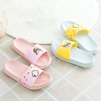 Slipper 2021 Cute Summer Slippers Baby Girls Boys Children Pvc Cartoon Kids Sandal Shoes