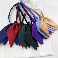 Gargalhes gravatas vestidos de escola para meninas gravata lady jk uniformes orelhas bowtie colllar cravat anime marinheiro terno estudantes altos