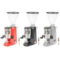 دليل القهوة المطاحن طاحونة كهربائية الفاصوليا طحن آلة طحن صنع لوازم الاتحاد الأوروبي التوصيل 220 فولت الملحقات