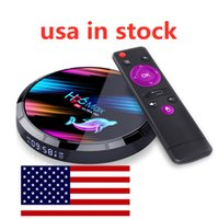 USA En stock H96 MAX X3 TV BOX 8K BT4.0 PLAYER MEDIA JOUEUR AMLOGIC S905X3 Android 9.0 4GB RAM 32GB ROM