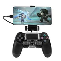 PS4 Wireless Controller Phone clip Mount Holder Stand Bracket Compatible with PlayStation Pro Slim Dualshock 4 Joystick Y1018
