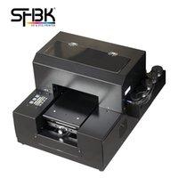 Stampante UV A4 Vendite all'ingrosso della fabbrica L'ultima macchina da stampa a t-shell del silicone multifunzionale del telefono cellulare L800 L805 Modello della macchina da stampa del flatbed Modello: A4-6