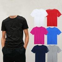 2021 Imprimé 100% coton Hommes T-shirts respirants Cool T-shirt pour hommes Tshirt Normal T-shirt T-shirt T-shirt à manches courtes
