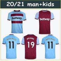 20 21 21 WEG Fussball Jerseys 125. Jubiläumsschinken 2020 2021 United Noble Haller Anderson Lanzini Antonio Home Away Herren Kids Kit Fußball Hemd