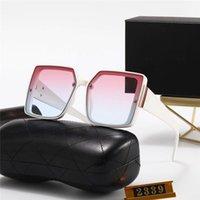 Designer Sonnenbrille 2339 Beliebte Frauen Mode Sonnenbrille Square Sommer Stil Full Frame Top Qualität UV-Schutz Sonnenbrille Kommen Sie mit Box