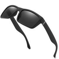 Óculos de sol Unisex Square Vintage Sun Óculos de sol famosos Polarizada retro feminino para mulheres homens