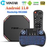 T95 Plus Smart TV Box Android 11 8GB RAM 64GB Rockchip RK3566 Support 4K Wifi 1000M 4GB 32GB Media Player T95Plus Set top TVBOX