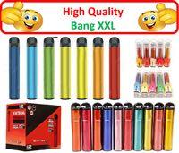Bang XXL одноразовый Vape Bang XXL 2000 Puff Total 24 Цвета 800 мАч В наличии Одноразовый Vape Pen Одноразовый Vape