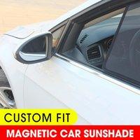 Car Sunshade For WRX STI 11th Sedan 2014-2021 Side Window Front Windshield Blind Sun Shade Magnetic Visor Mesh Curtains