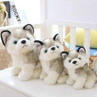 Husky Köpek Peluş Oyuncaklar Küçük Dolması Hayvanlar Bebek Oyuncakları Hediye Çocuk Noel Hediyesi Dolması Hayvanlar Peluş Bebekler Çocuk Oyuncakları