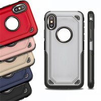2 in 1 Matte Shell Frosted Hybrid Armor Case Slim Back Cover For iPhone 6 6s 7 8 x xr 11 12 pro max