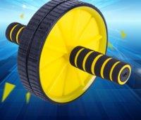 Обновленные двусмысленные обновления AB брюшной пресс-ролики колеса Crossfit Упражнение для корпуса Фитнес для домашнего спортзала Y1892612 80 W2