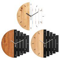 Wall Clocks 12-inch Modern Clock Steampunk Futuristic Silent Bedroom Home Office El Cafe Decoration