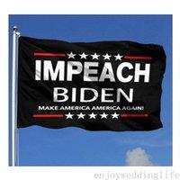 2024 Anti Biden Drapeaux Bannières de Trump d'extérieur 3 'x 5'ft 100d Polyester Expédition rapide Couleur vivante avec deux œillets en laiton