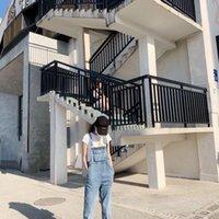 Women's Jeans Spring 2021 All-around Skinny Fashion Denim Belt Pants Korean Version Loose