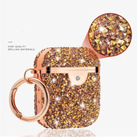 for Apple Airpods Pro Cases Diamond xiaomi airpro h1 ap3 2 3rd generation Wireless Bluetooth Earphone Protective Cover 7 Colors