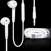 3.5mm earphones in ear Stereo earphone headphones headsets with mic and remote Volume Control For Samsung S7 S6 Edge