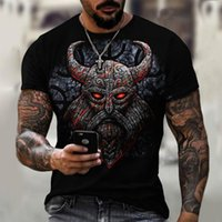 Men's T-Shirts T-shirt, Summer And Casual, 3D Black Cape, Short Loose, Large, Fashionable, Top Street, 2021