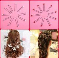 Headpieces coreanos 2021 acessórios de cabelo cocar em forma de U-em forma de pulseira de cabelo cabelo nupcial pêlos de pêlos de embelezamento