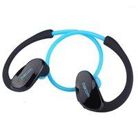 원래 Dacom Athlete Bluetooth 헤드셋 G05 무선 헤드폰 V4.1 마이크로폰으로 스테레오 이어폰 실행 스포츠