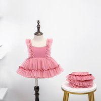 Girl's Dresses Toddlers Cute Party Suspender Infant Kids Princess Dress Children Clothing Prom Designs Baby Girls Summer Shorts
