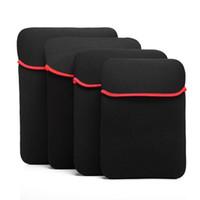 """İş Seyahat Taşıma Çantası 6-17 Inç Neopren Yumuşak Kollu Kılıfı Laptop Kılıfı Koruyucu Çanta Için 7 """"12"""" 13 """"14"""" 17 """"GPS Tablet PC Notebook"""