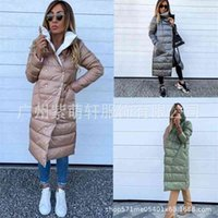 2021 autumn and winter fashion new double side down cotton large female jacket