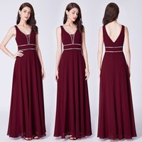2021 Cheap Sexy Backless V-Neck A-Line Bridesmaid Dresses Chiffon Sheer Maid Of Honor Plus Size Formal Evening Prom Party Gowns 04