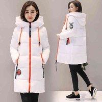 Women's Jackets Jaqueta parka feminina de inverno , casaco com capuz acolchoado algodo grosso feminino bsico z30 5Y25