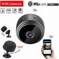 مصغرة 1080P كامل HD كاميرا واي فاي الصغيرة IP مايكرو كاميرا ir في للرؤية الليلية في الهواء الطلق الرؤية الصغرى كشف الحركة فيديو مسجل الأمن الكاميرا الخفية