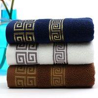 Asciugamani da asciugamani di cotone diretto della fabbrica all'ingrosso 110g asciugamano di jacquard del commercio degli uomini dell asciugamano scuro degli uomini dell asciugamano scuro degli uomini dell asciugamano del commercio dell asciugamano della pubblicità dell asciugamano dell autoscatto