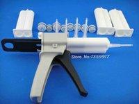 ADESIVE Sigillante Metallo in metallo Top Fibbia AB Glue Cartuccia 2: 1 1: 1 Universale Pistola per erogazione manuale da 50 ml con ugello di miscelazione DKKA