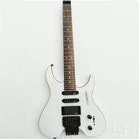 Kartal. Kelebek, elektro gitar, elektrik bas, özel enstrüman dükkanı .Headless elektro gitar Steinberg beyaz gitar.