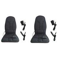 وسائد مقعد 918B الكهربائية مدلك كرسي تدليك سيارة الهزاز عودة الرقبة massagem وسادة وسادة الحرارة للساقين الخصر الجسم