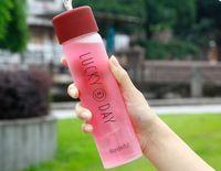 360ml caneca tumbler garrafas de água adulto outdoors esporte esporte cor de aptidão copo de espaço de vidro fácil de transportar crianças criança crianças crianças
