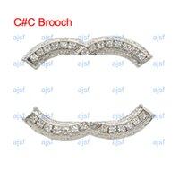 Nieuwste Designer Broche Luxe Diamond Dames Mens Broches Parijs Modemerk Broche Exquisite Sieraden Gift Instock