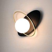 Wandleuchten Nordic Modern LED Lampe Schlafzimmer Nacht Kreative Licht Wohnzimmer Hintergrund Restauranthalterung