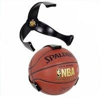 Kancalar Raylar Plastik Top Pençe Duvar Montaj Basketbol Tutucu Futbol Depolama Raf Ekran Braketi Uzay Tasarrufu Ev Dekor için