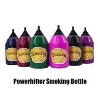2021 Powerhitter Smoking Outils Accessoires Puissance Hitter Fête Boules Puff Squeeze Planal Inhalateur spacer Bouteille de fumée pour plusieurs personnes