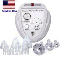 Voorraad in de VS Nieuwe Lijstvacuüm Massagetherapie Uitbreiding Pomp Opheffende Borst Enhancer Massager Bust Cup Body Shaping Beauty Machine FedEx