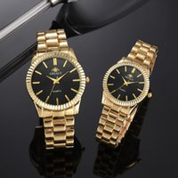 Saatı Çift İzle 2021 Erkek Saatler Üst Kuvars Kadınlar Saat Bayanlar Elbise Kol Moda Rahat Severler