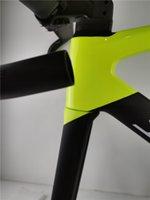 جودة عالية 700c قرص الفرامل الطريق دراجة إطارات BB30 الصحافة-صالح قوس أسفل مناسبة ل di2 مجموعة الكربون الطريق الدراجة الإطار