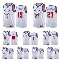 2020-21 Denver.NuggetsMänner Nikola Michael Porter Jr. Bol Bol Jokic Jamal Murray verdiente Edition Weiß Swingman Basketball Jersey 03