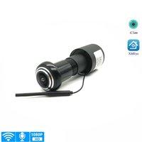 1080P Wi-Fi Door Eye Hole Home Mini Peephole IP P2P Onvif View Camera Two-Way Voice Intercom Motion Detection Webcam
