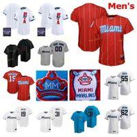 Männer Frauen Jugend 2021 All-Star-Spiel Baseball-Trikots 6 starling Marte 48 Steven Okert 12 Joe Panik 56 Zach Pop City Connect Custom genittelt