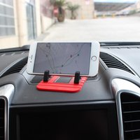Anti-slip Mats Car Gadget Fixed Gel Pad Dashboard Phone Coin Double-sided Mat Mobile Sunglasses Stand Adhesive 11*9*1cm