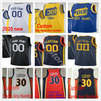 Pantalla personalizada impresa Stephen 30 Klay Curry 11 Thompson 33 Wiseman Draymond 23 Green 12 Oobre Jr. Hombres Mujeres Niños Jerseys de baloncesto juvenil